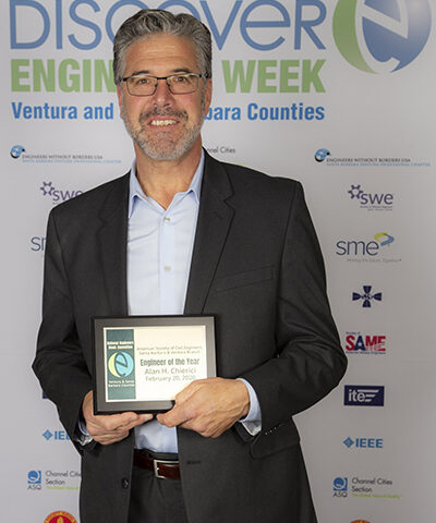 Alan Chierici 2020 Engineer of the Year